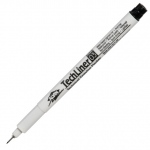 Alvin® TechLiner Technical Drawing Marker .3mm: Black/Gray, .3mm, Fine Nib, Technical
