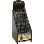 Royal & Langnickel Best Mini Majestic Taklon Watercolor and Acrylic Brushes Display