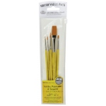 Royal & Langnickel Yellow 5-Piece Brush Set 4