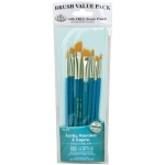 Royal & Langnickel Teal Blue 8-Piece Brush Set 15