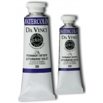 Da Vinci Artists' Watercolor Paint 15ml Ultramarine Viol: Purple, Tube, 15 ml, Watercolor, (model DAV285F), price per tube