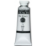 Da Vinci Artists' Gouache Opaque Watercolor Black 150ml: Black/Gray, Tube, 150 ml, Gouache, Watercolor, (model DAV403L), price per tube