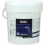 Liquitex® White Gesso 1 gallon: White/Ivory, 1 gal, Acrylic Painting, Gesso, (model 5336), price per each