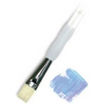 Royal & Langnickel® Soft Grip™ Stiff Hog Bristle Bright Brush 3: Stiff Hog Bristle, Bright, 3, Acrylic, Oil, Watercolor