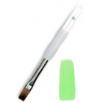 Royal & Langnickel® Soft Grip™ Sable Bright Brush 2: Sable, Bright, 2, Acrylic, Oil, Watercolor