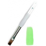 Royal & Langnickel® Soft Grip™ Sable Bright Brush 10: Sable, Bright, 10, Acrylic, Oil, Watercolor