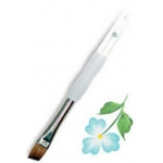 Royal & Langnickel® Soft Grip™ Sable Angular Brush 3/8: Sable, Angular, 3/8, Acrylic, Oil, Watercolor