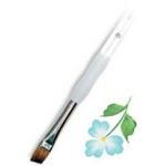 Royal & Langnickel® Soft Grip™ Sable Angular Brush 1/4: Sable, Angular, 1/4, Acrylic, Oil, Watercolor