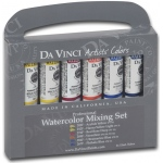 Da Vinci Artists' Watercolor Paint 10-Color Warm & Cool Set: Multi, Tube, 15 ml, Watercolor