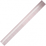 "Westcott 24"" English/Metric Ruler"