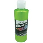 Createx™ Airbrush Paint 4oz Pearlescent Lime: Green, Bottle, 4 oz, Airbrush, (model 5313-04), price per each