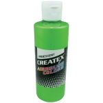 Createx™ Airbrush Paint 2oz Iridescent Green: Green, Bottle, 2 oz, Airbrush, (model 5507-02), price per each