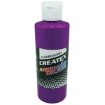 Createx™ Airbrush Paint 4oz Fluorescent Violet: Purple, Bottle, 4 oz, Airbrush, (model 5401-04), price per each