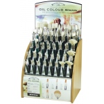 Winsor & Newton Winton Very Good Quality Hog Bristle Brush Display Assortment