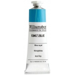 Williamsburg® Handmade Oil Paint 37ml King's Blue: Blue, Tube, 37 ml, Oil, (model 6000813-9), price per tube