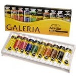 Winsor & Newton™ Galeria™ Acrylic 10-Color Set: Multi, Tube, 60 ml, Acrylic