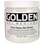 Golden® Extra Heavy Gel Medium Gloss 8 oz.: Gloss, 236 ml, 8 oz, Gel, (model 0003080-5), price per each