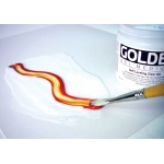 Golden® Self Leveling Clear Gel Medium 16 oz.: 16 oz, 473 ml, Gel, (model 0003001-6), price per each