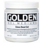Golden® Glass Bead Gel Medium 8 oz.: 236 ml, 8 oz, Glass Bead, Gel, (model 0003236-5), price per each