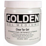 Golden® Clear Tar Gel Medium 8 oz.: 236 ml, 8 oz, Gel, (model 0003330-5), price per each