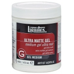 Liquitex® Ultra Matte Gel Medium 16oz: Matte, 16 oz, Gel, (model 5426), price per each