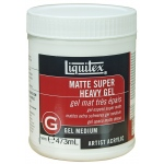 Liquitex® Matte Super Heavy Gel Medium 16oz: Matte, 16 oz, Gel, (model 5816), price per each