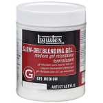 Liquitex® Slow-Dri® Blending Gel Medium 16oz: 16 oz, Acrylic Painting, Gel, (model 7216), price per each