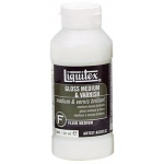 Liquitex® Gloss Medium and Varnish 8oz: Bottle, 8 oz, Varnish, (model 5008), price per each