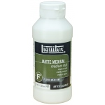 Liquitex® Matte Medium 8oz: Matte, Bottle, 8 oz
