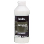 Liquitex® Matte Medium 16oz: Matte, Bottle, 16 oz