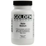 Golden® Matte Medium 8 oz.: Matte, 236 ml, 8 oz, (model 0003530-5), price per each
