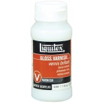 Liquitex® Gloss Varnish 4 oz.: Gloss, 4 oz, Varnish