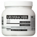 Grumbacher® Modeling Paste 32oz: Jar, 32 oz, Modeling Paste, (model GB52632), price per each