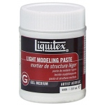 Liquitex® Light Modeling Paste 8oz: 8 oz, Texture
