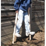 Beka Traditional Wooden Maple Stilts: Tall, 57.5""