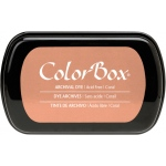 ColorBox® Full Size Archival Dye Ink Pad Coral: Red/Pink, Pad, Dye-Based, (model CS27025), price per each