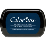 ColorBox® Full Size Archival Dye Ink Pad Midnight: Blue, Pad, Dye-Based