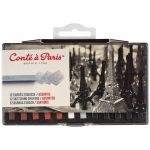 Conte™ 12-Color Sketching Set: Multi, Crayon, Drawing, (model C50247), price per set