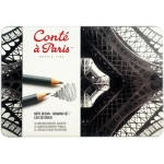 Conte™ Drawing Pencil Metal Tin Set: Multi, Drawing, (model C2187), price per set