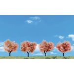 "Woodland Scenics® 4-Pack Flowering Trees: Green, 4-Pack, 2"" - 3"", Tree, (model TR3593), price per each"