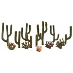 "Woodland Scenics Cactus Plants 1/2"" - 2-1/2"" 13-Pack"