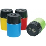 Finetec Plastic Sharpeners: Assorted, Two, Plastic, Manual, (model EI430), price per box
