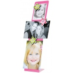 "Mishu Pink Magnetic Noteboard Set: Red/Pink, Noteboard, 3 3/4""d x 3 1/2""w x 15 1/2""h, Noteboard"