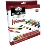 Royal & Langnickel® 18-Color Watercolor Paint Set: Multi, Tube, 12 ml, Watercolor, (model RWAT18), price per set