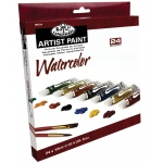 Royal & Langnickel 12ml Watercolor Paint 24-Color Set