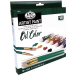 Royal & Langnickel® Oil Paint 18-Color Set: Multi, Tube, 12 ml, Oil, (model ROIL18), price per set