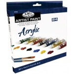 Royal & Langnickel® 24-Color Acrylic Paint Set: Multi, Tube, 12 ml, Acrylic, (model RACR24), price per set