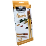 Royal & Langnickel 12ml Gouache Paint 12-Color Set