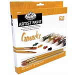 Royal & Langnickel® 18-Color Gouache Paint Set: Multi, Tube, 12 ml, Gouache, (model RGOU18), price per set