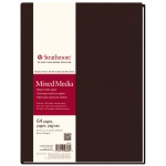 "Strathmore® 500 Series 8 1/2"" x 11"" Sewn Bound Mixed Media Art Journal: White/Ivory, Journal, 64 Sheets, 8 1/2"" x 11"", Mixed Media"
